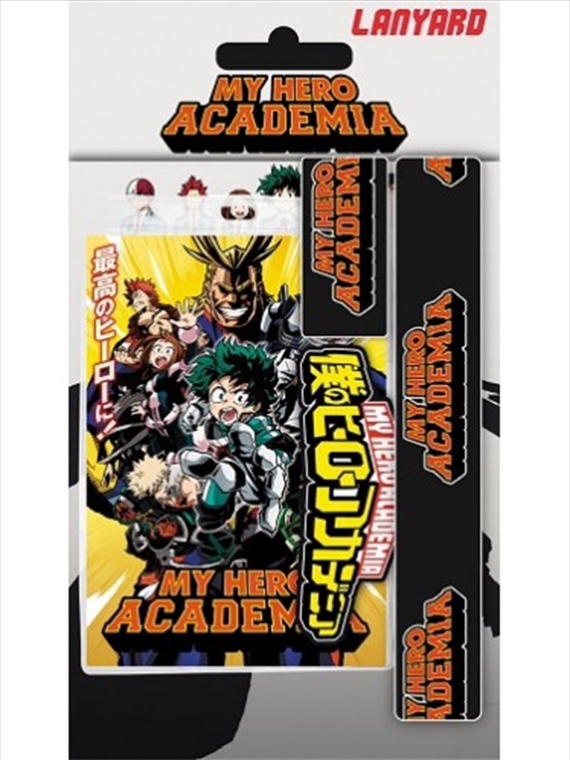 My Hero Academia Logo Lanyard | Merchandise
