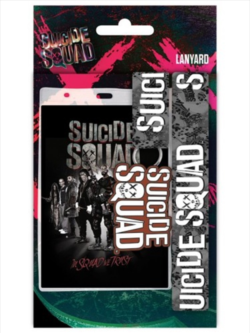 DC Comics Suicide Squad Lanyard   Merchandise