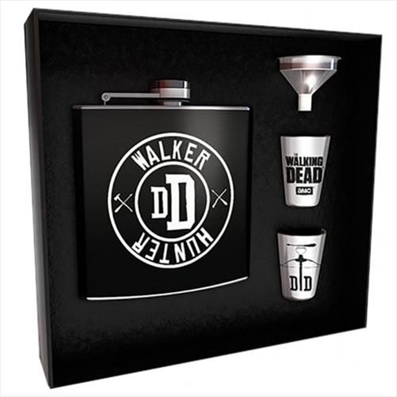Walking Dead Walker Hunter Hipflask Set | Merchandise
