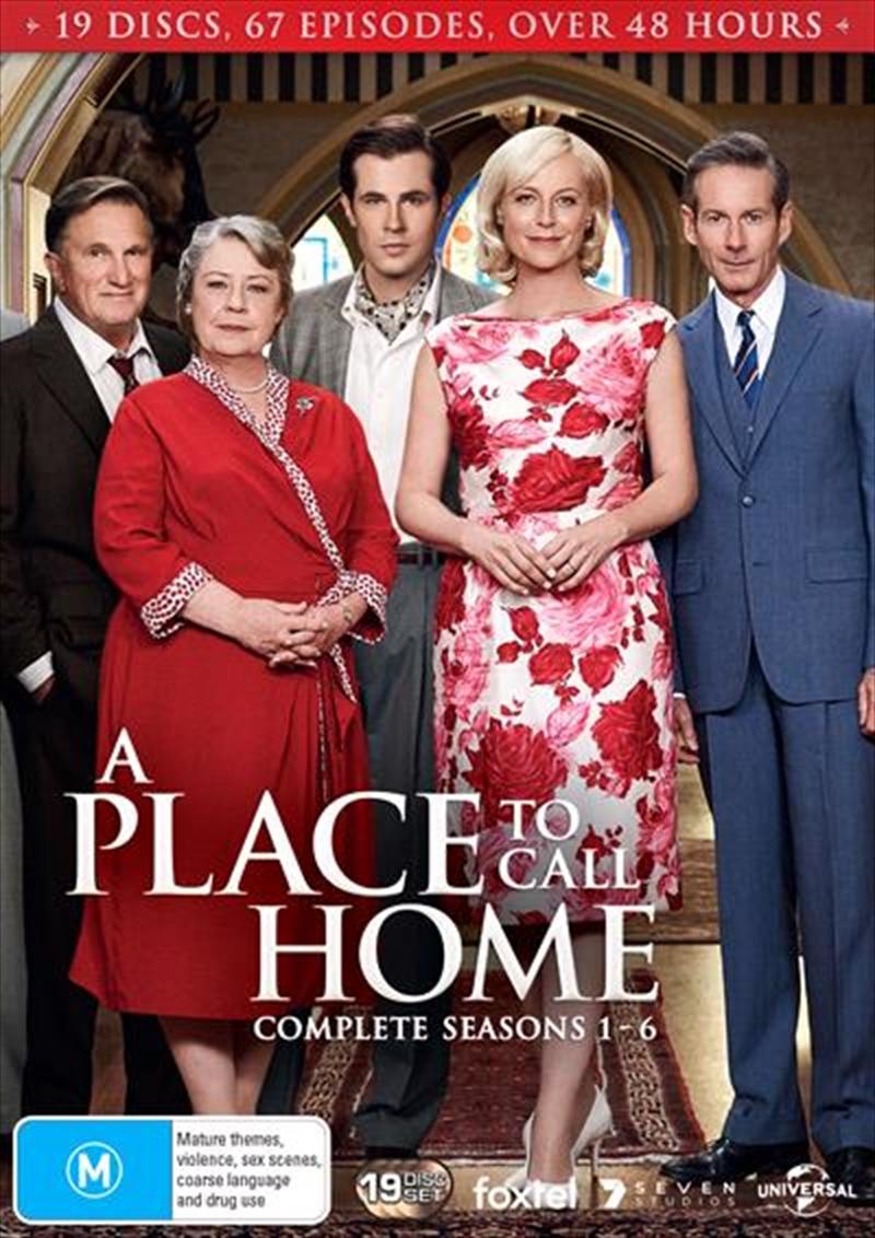 A Place To Call Home - Season 1-6   Boxset   DVD