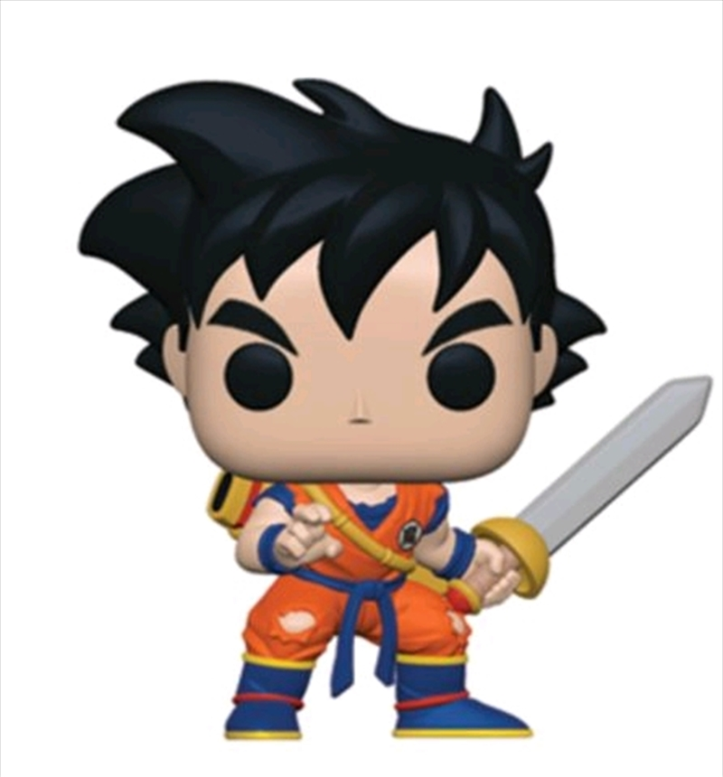 Dragon Ball Z - Young Gohan with Sword US Exclusive Pop! Vinyl [RS] | Pop Vinyl