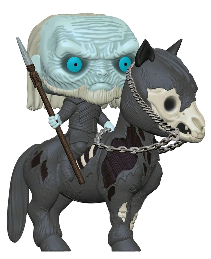 Game of Thrones - White Walker on Horse Pop! Ride | Pop Vinyl