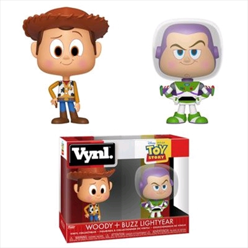 Toy Story - Woody & Buzz Vynl. | Pop Vinyl