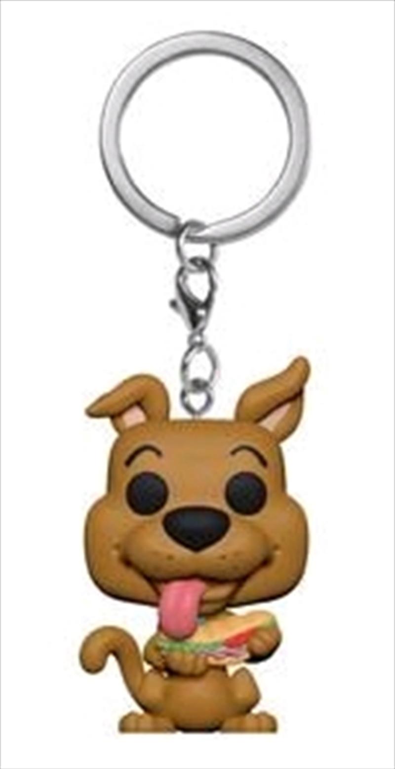Scooby Doo - Scooby Doo with Sandwich US Exclusive Pocket Pop! Keychain [RS] | Pop Vinyl