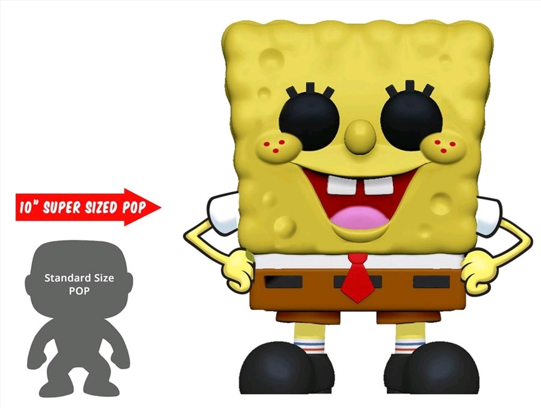 "Spongebob SquarePants - Spongebob 10"" US Exclusive Pop! Vinyl [RS] 