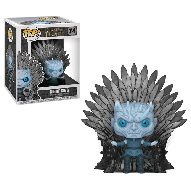 Game of Thrones - Night King Iron Throne Pop! Deluxe | Pop Vinyl