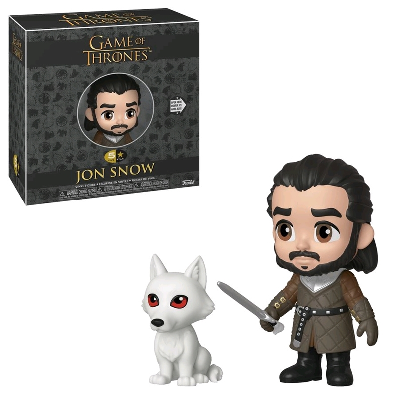 Game of Thrones - Jon Snow 5-Star Vinyl | Merchandise