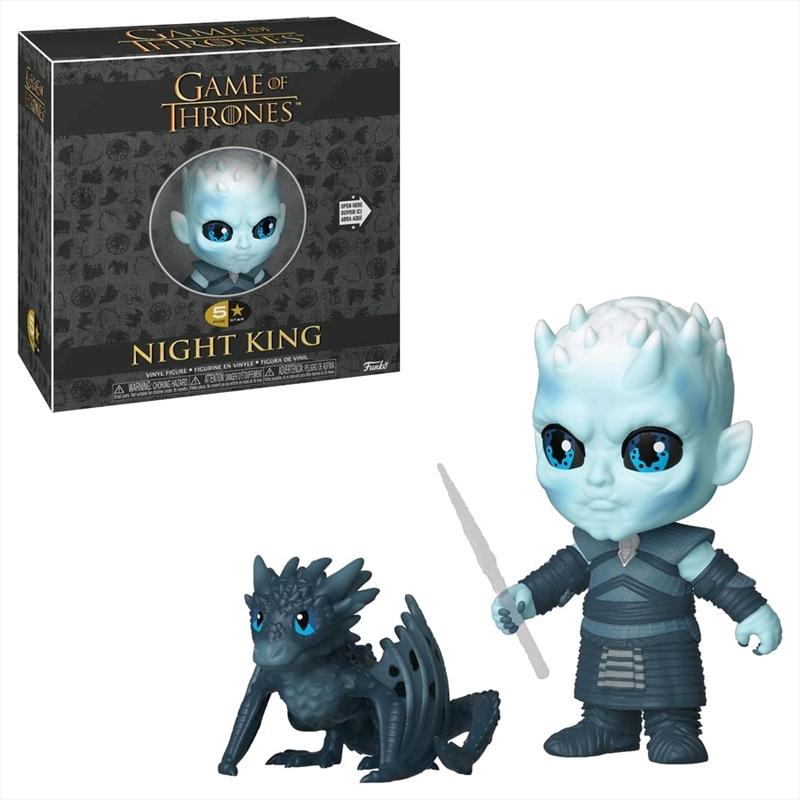Game of Thrones - Night King 5-Star Vinyl   Merchandise