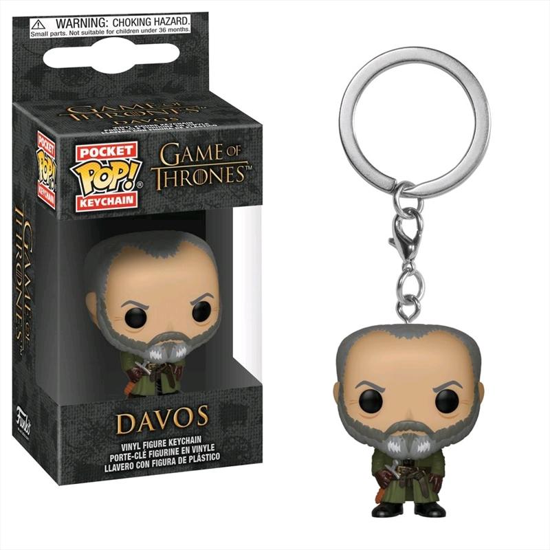 Game of Thrones - Davos Pocket Pop! Keychain | Pop Vinyl