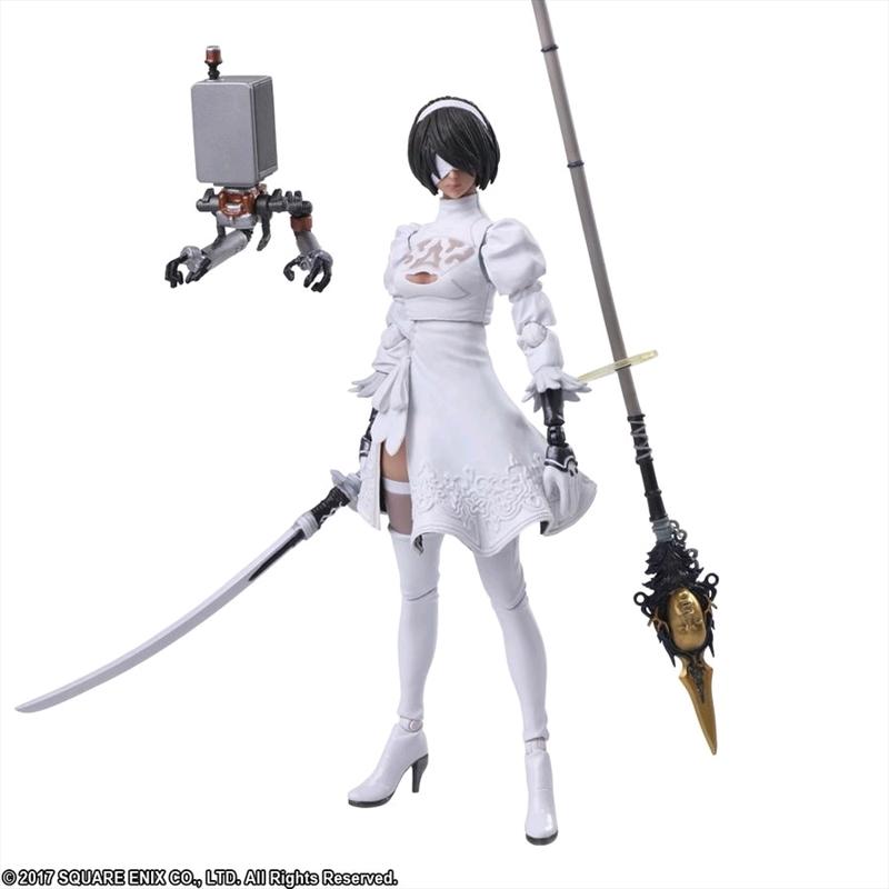 Nier: Automata - YoRHa No2 Type B (Color version) Bring Arts Action Figure | Merchandise