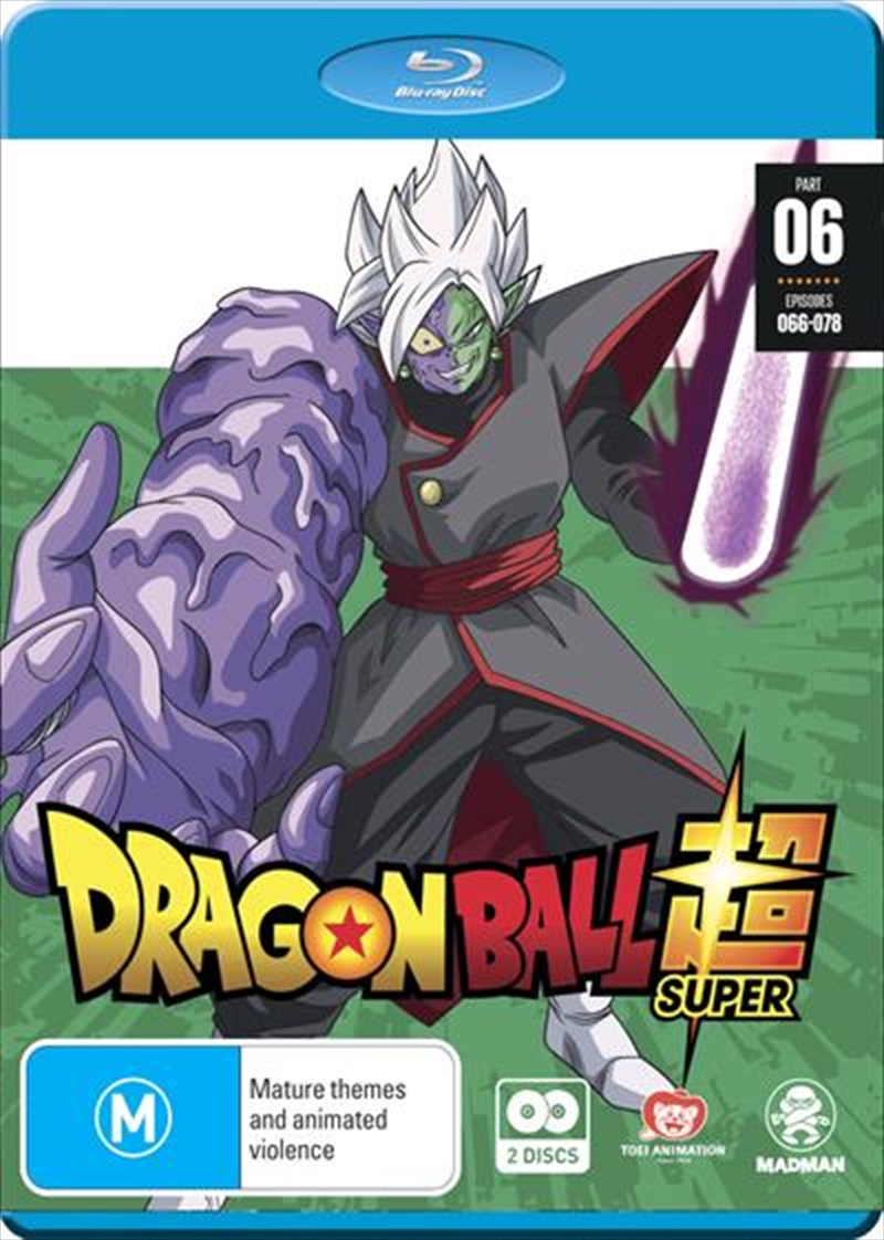 Buy Dragon Ball Super Part 6 Eps 66 78 On Blu Ray Sanity
