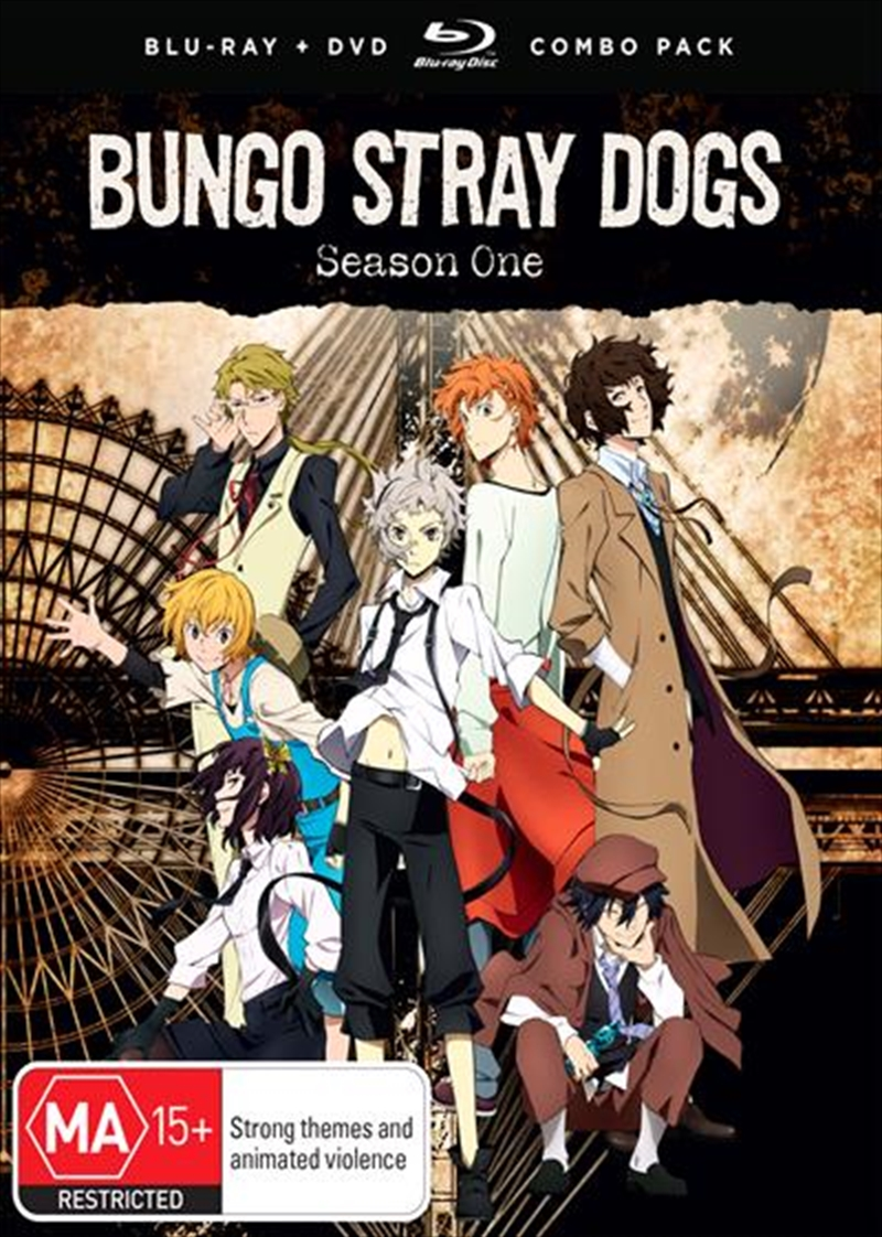 Bungo Stray Dogs - Season 1 | Blu-ray/DVD