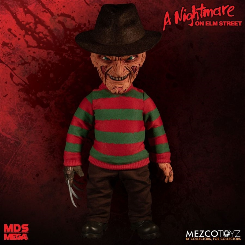 Nightmare on Elm Street - Freddy Krueger Mega Scale Action Figure | Merchandise