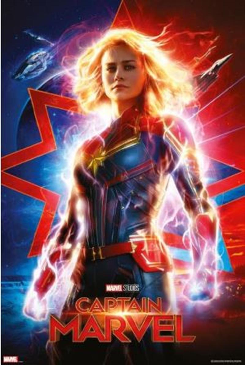 Captain Marvel Teaser Poster | Merchandise