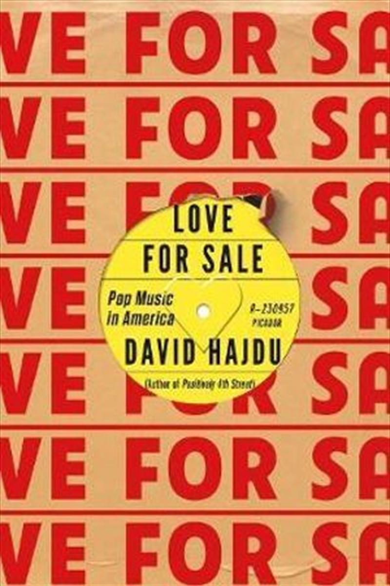 Love For Sale: Pop Music In America | Paperback Book