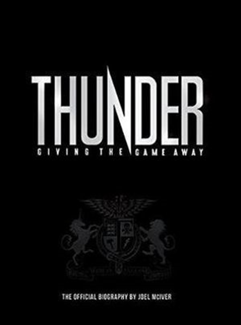 Thunder: Giving the Game Away | Paperback Book