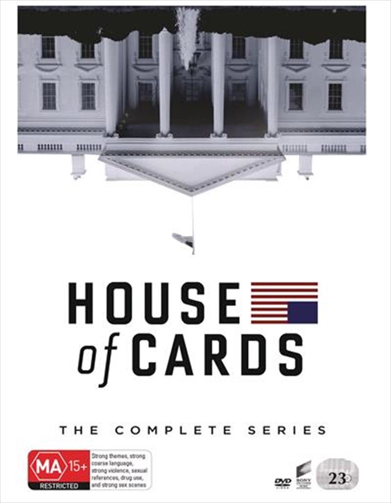 House Of Cards - Season 1-6 | Boxset | DVD