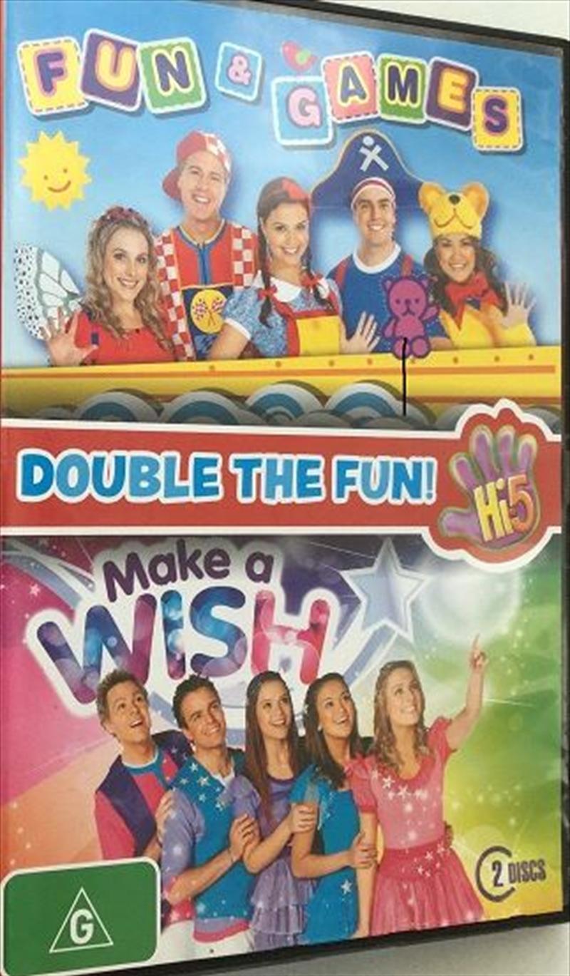 Hi5 - Fun And Games / Make A Wish - Double Fun Pack | DVD