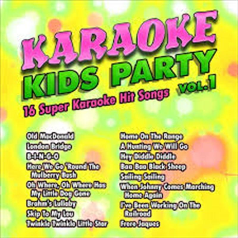 Kids Karaoke Party 1 | CD