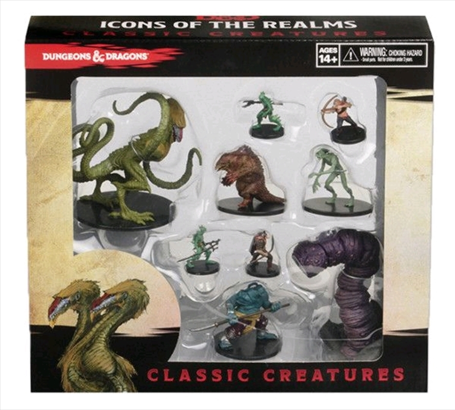 Dungeons & Dragons - Icons of the Realms Classic Creatures Box Set | Games
