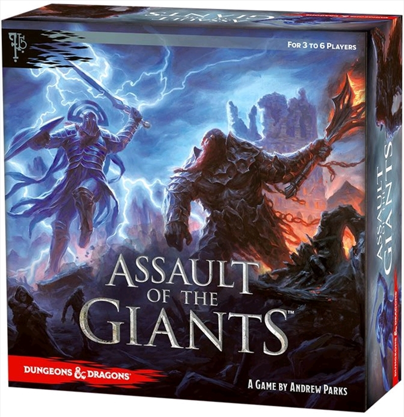 Dungeons & Dragons - Assault of the Giants Standard Board Game | Games