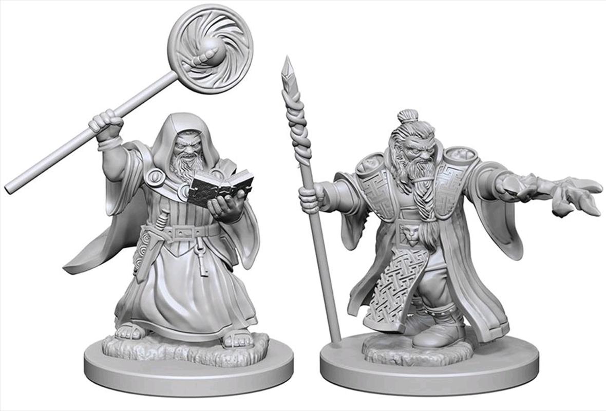 Dungeons & Dragons - Nolzur's Marvelous Unpainted Minis: Dwarf Male Wizard | Games