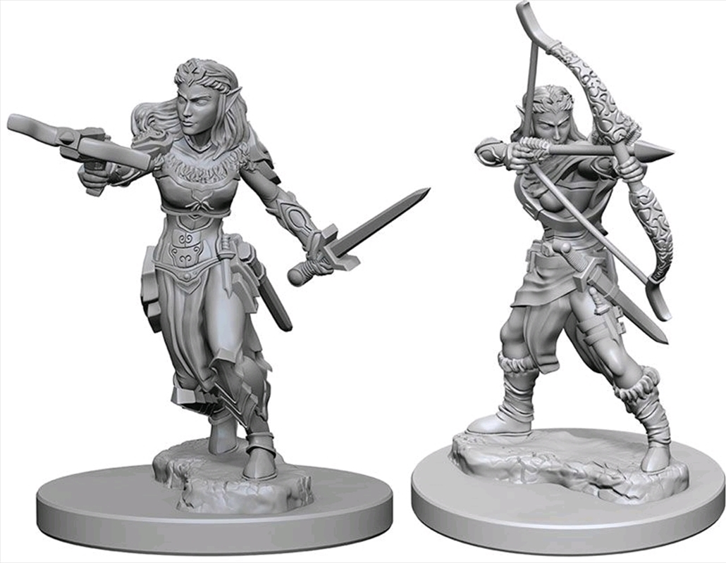 Dungeons & Dragons - Nolzur's Marvelous Unpainted Minis: Elf Female Ranger | Games