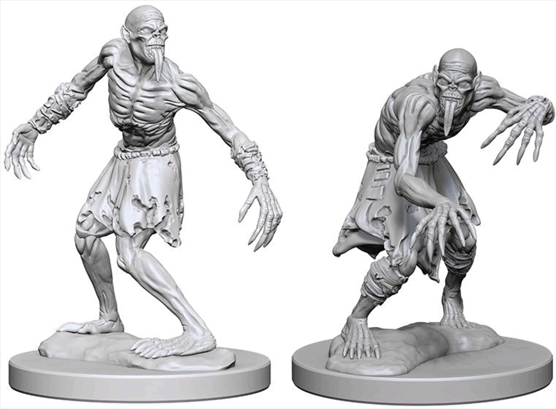 Dungeons & Dragons - Nolzur's Marvelous Unpainted Minis: Ghouls | Games