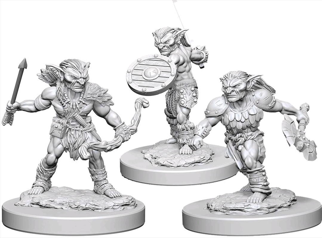 Dungeons & Dragons - Nolzur's Marvelous Unpainted Minis: Goblins | Games