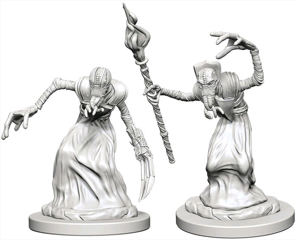 Dungeons & Dragons - Nolzur's Marvelous Unpainted Minis: Mind Flayers | Games