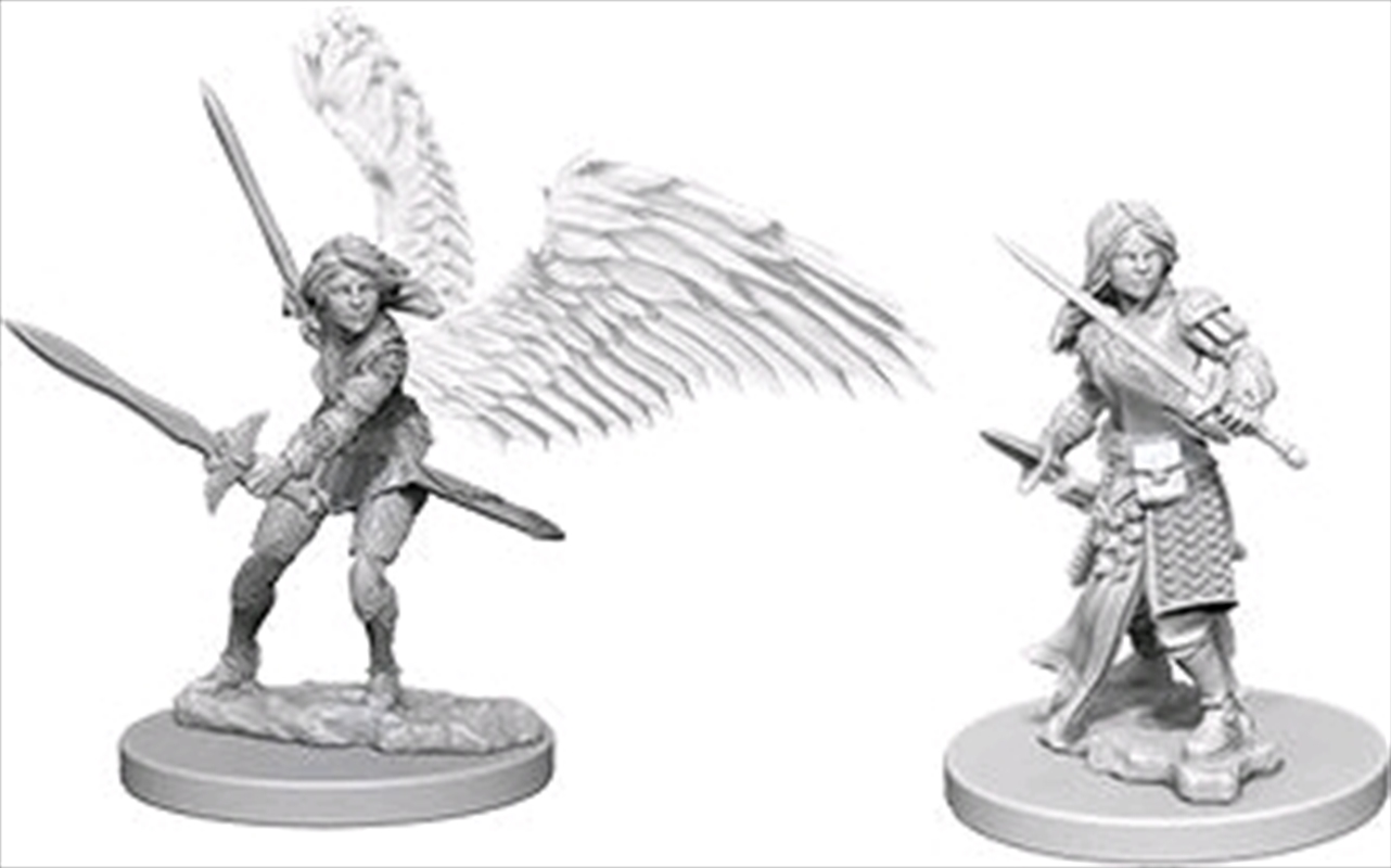 Dungeons & Dragons - Nolzur's Marvelous Unpainted Minis: Aasimar Female Paladin | Games