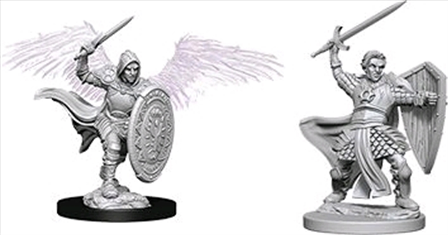 Dungeons & Dragons - Nolzur's Marvelous Unpainted Minis: Aasimar Male Paladin | Games