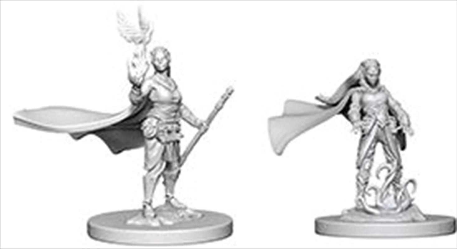 Dungeons & Dragons - Nolzur's Marvelous Unpainted Minis: Elf Female Druid | Games