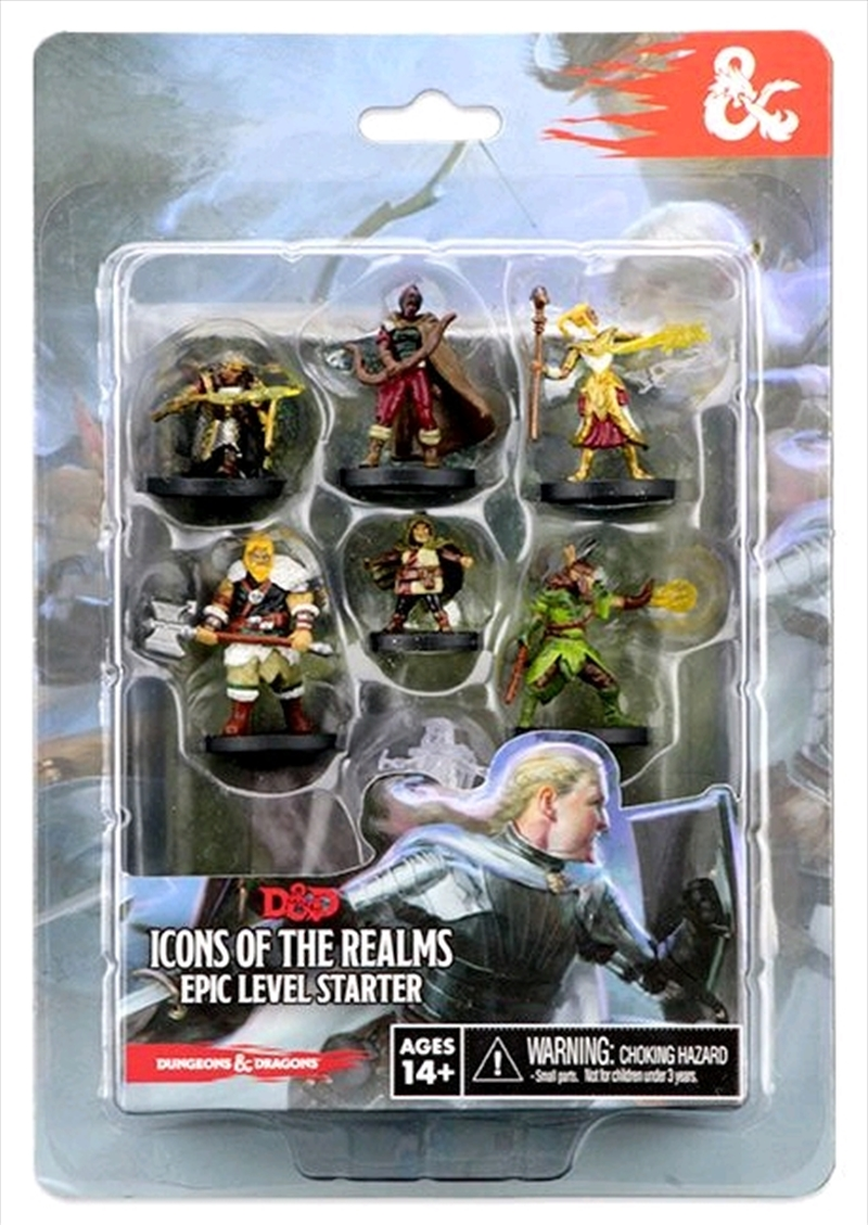 Dungeons & Dragons - Icons of the Realms Epic Level Starter | Games