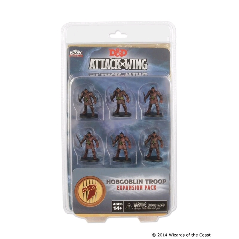 Dungeons & Dragons - Attack Wing Wave 1 Hobgoblin Troop Expansion Pack   Games