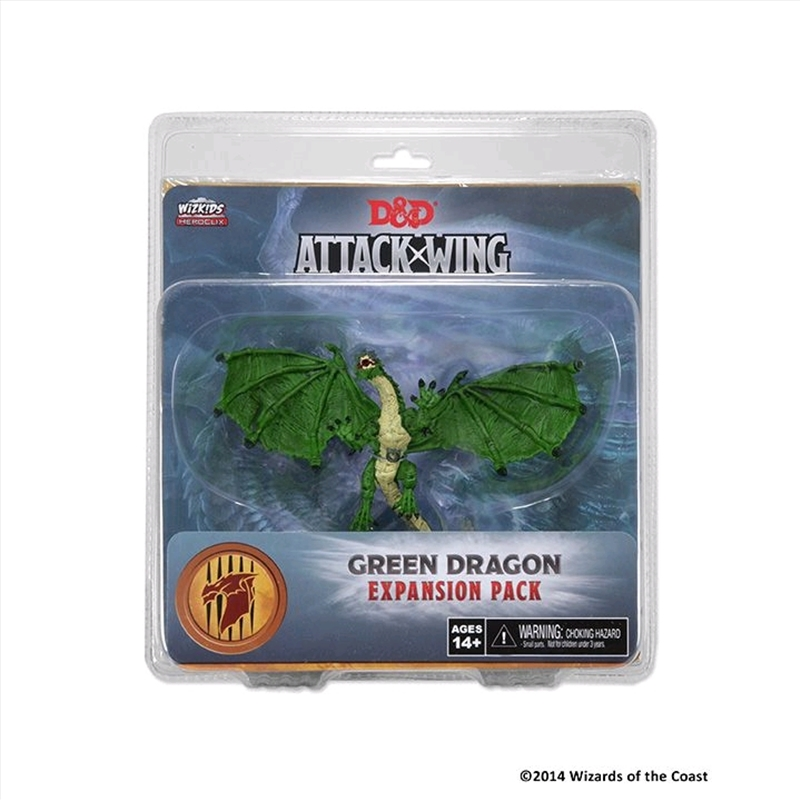 Dungeons & Dragons - Attack Wing Wave 1 Green Dragon Expansion Pack   Games