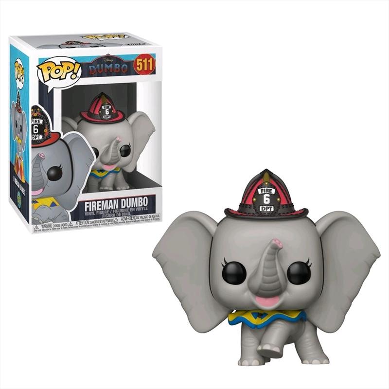 Dumbo (2019) - Dumbo Fireman Pop! Vinyl | Pop Vinyl