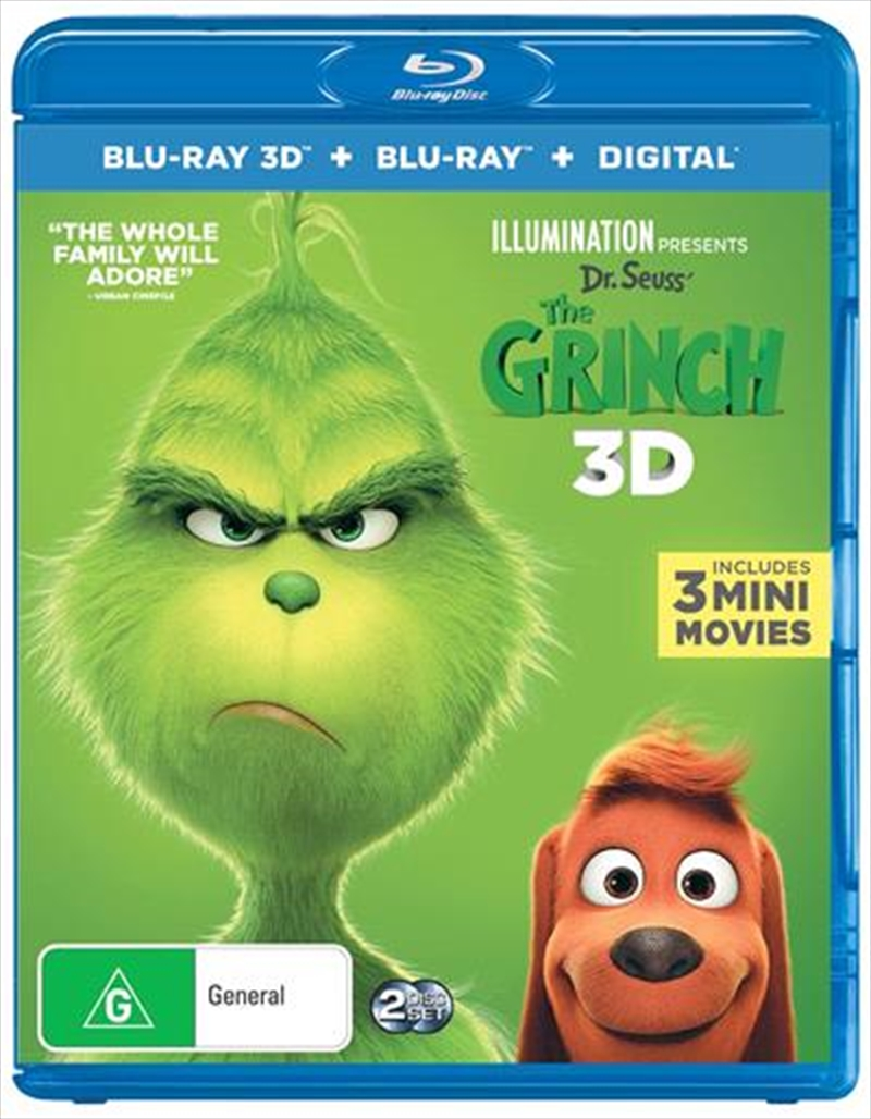 Grinch, The | Blu-ray 3D