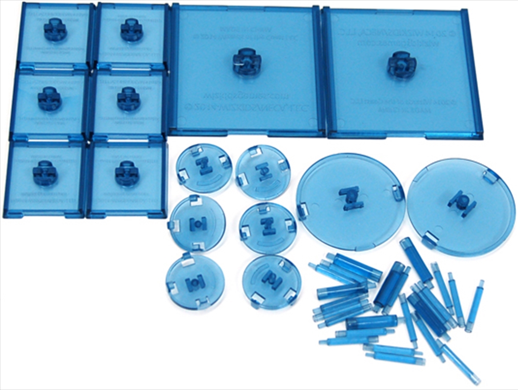 Dungeons & Dragons - Attack Wing Base & Pegs Set Blue   Games