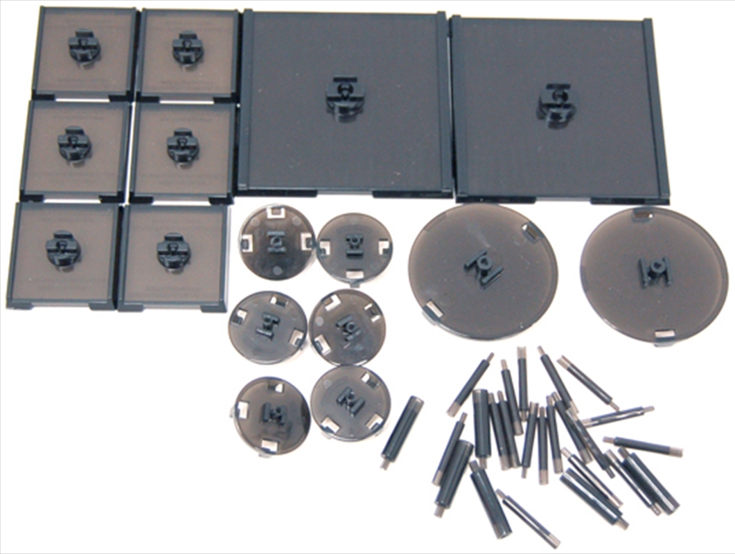 Dungeons & Dragons - Attack Wing Base & Pegs Set Black | Games