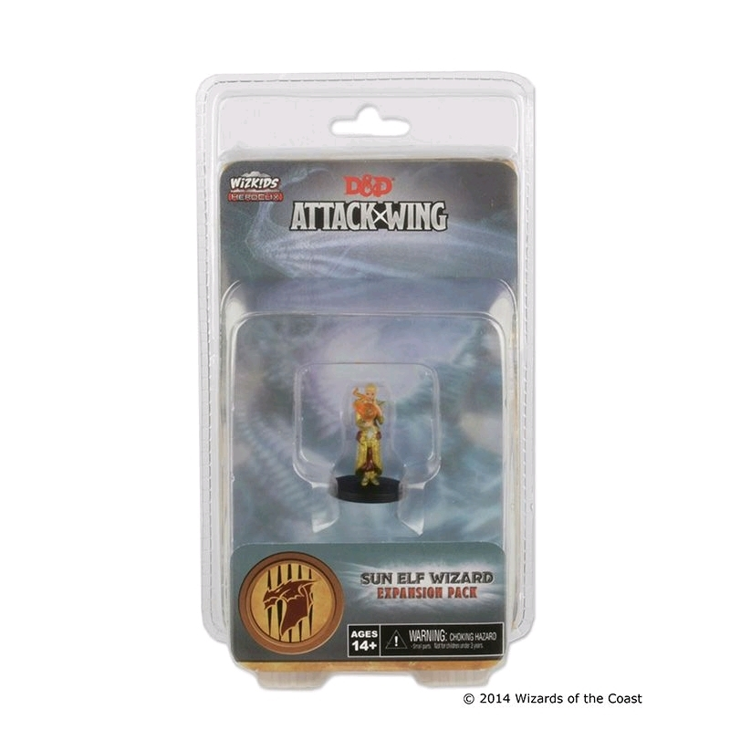 Dungeons & Dragons - Attack Wing Wave 1 Sun Elf Wizard Expansion Pack   Games