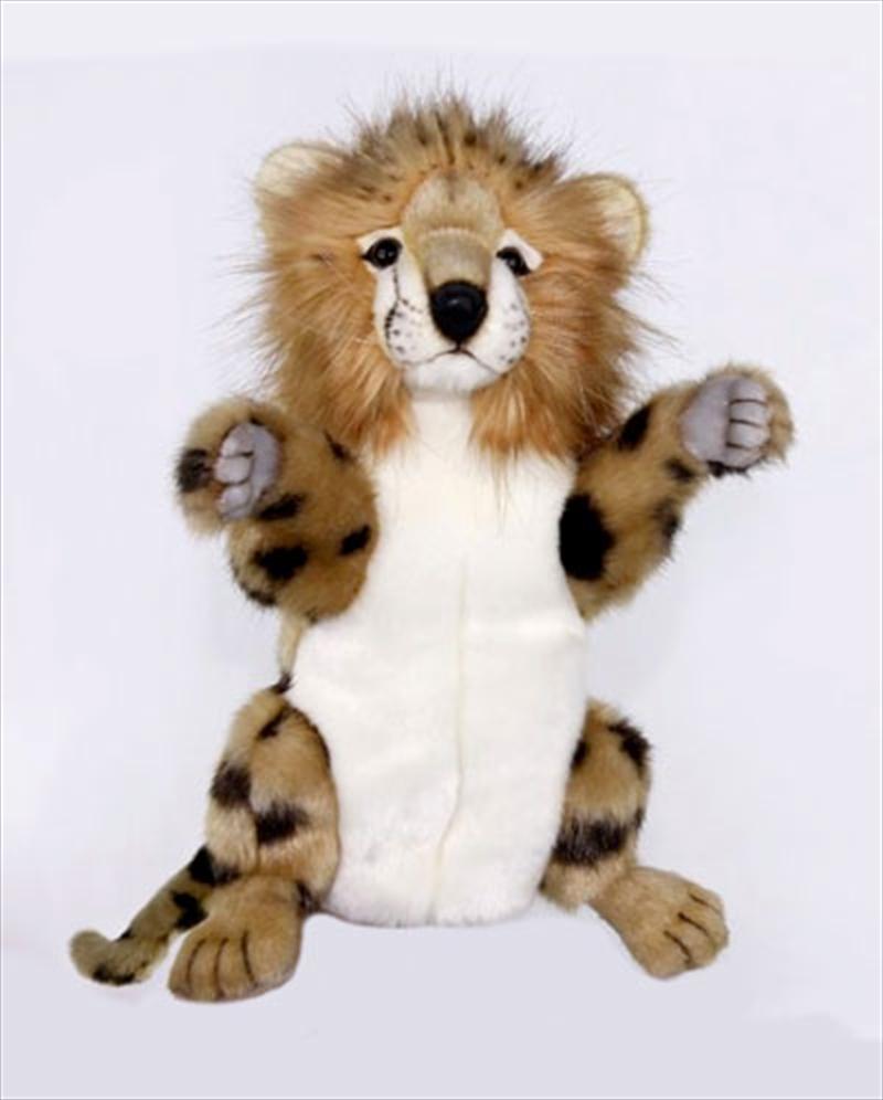 Cheetah Puppet 32cm H | Toy