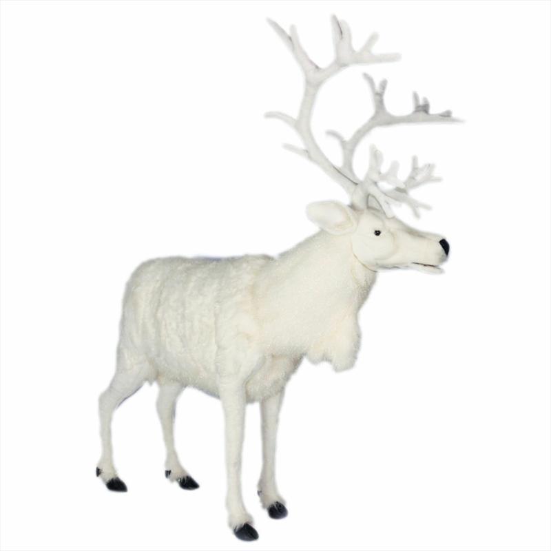 White Reindeer 165cm H | Toy