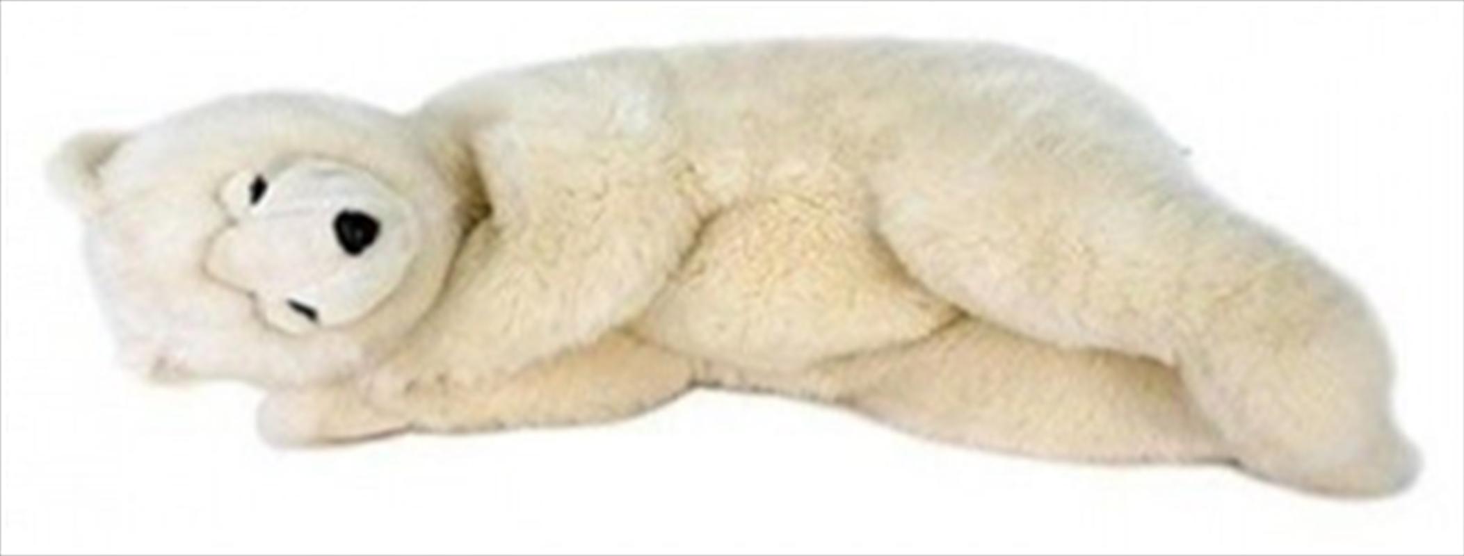 Cream Bear Sleeping 70cm L | Toy