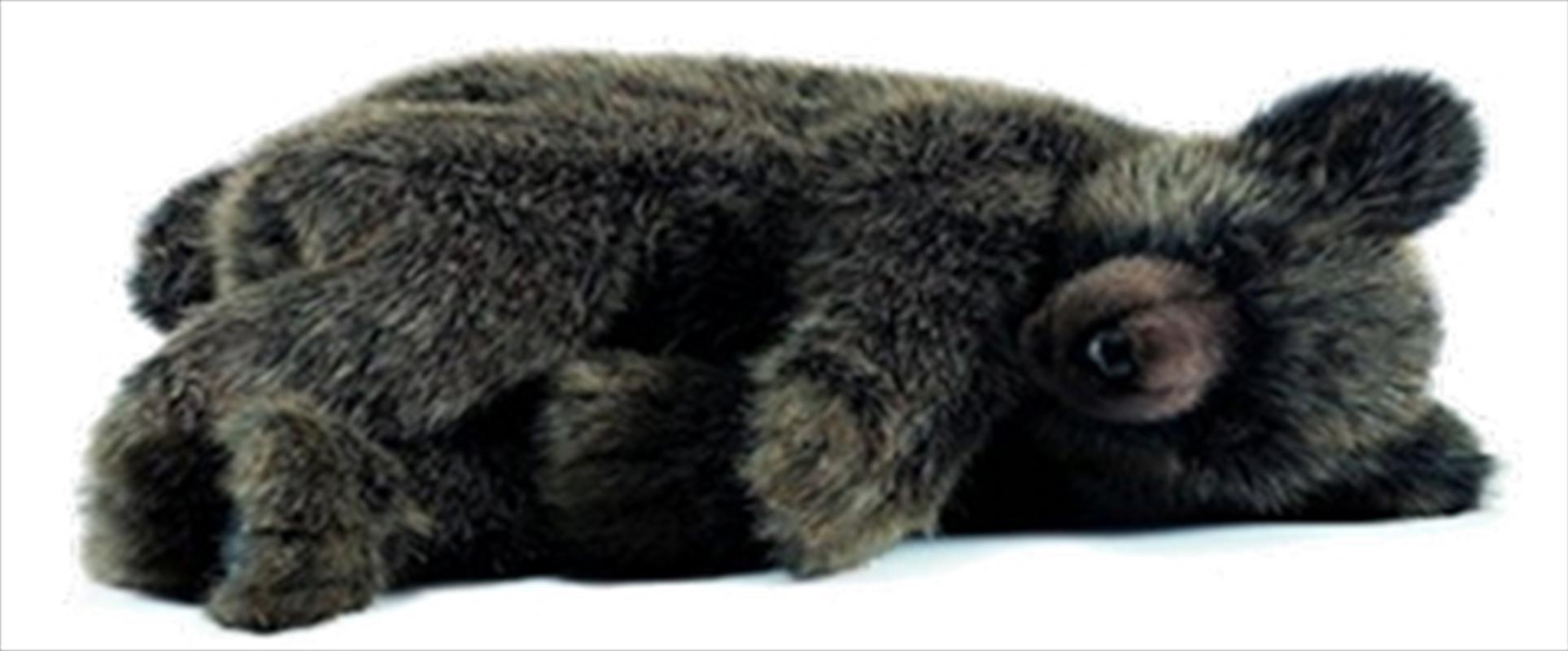 Brown Bear Sleeping 40cm H | Toy