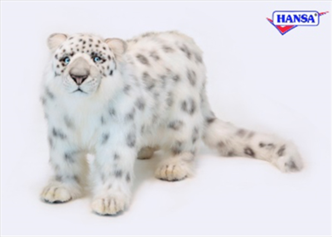 Snow Leopard Standing 56cm L | Toy
