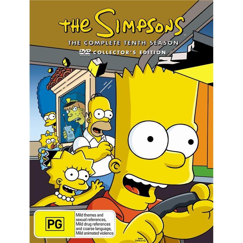 Simpsons: Season 10 | DVD