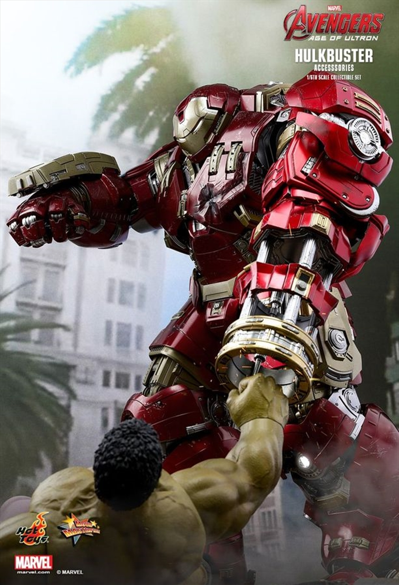 Avengers 2: Age of Ultron - Hulkbuster 1:6 Scale Action Figure Accessories Set | Merchandise