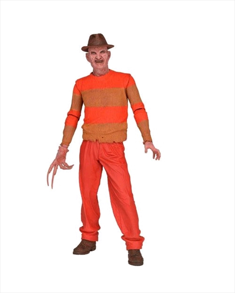 """A Nightmare on Elm Street - Freddy Classic Video Game 7"""" Action Figure Blister Package 