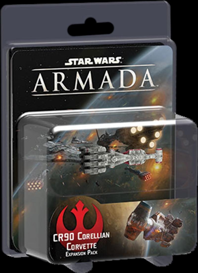 Star Wars - Armada - CR90 Corellian Corvette Expansion Pack | Merchandise